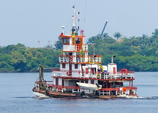 Como é o passeio de barco até o Encontro das Águas de Manaus, na Amazônia