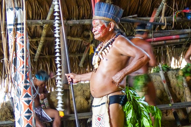 Ritual Indígena Reserva do Tupé