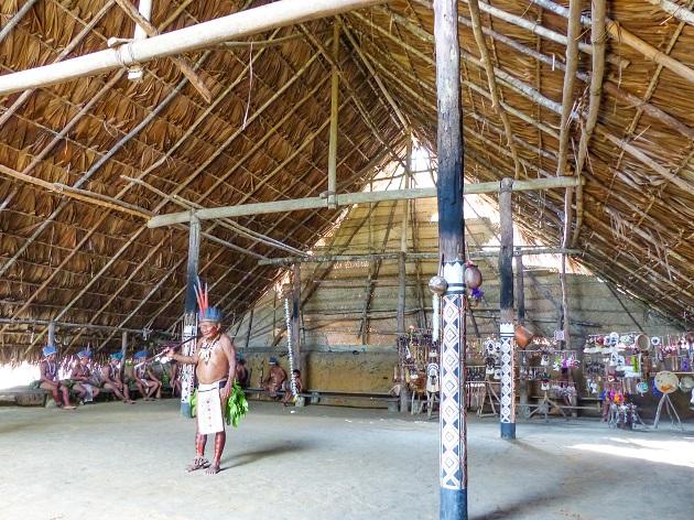 Ritual Indígena em Manaus