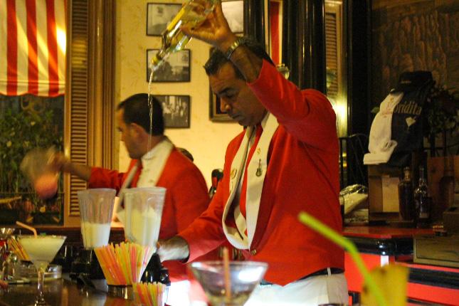 Barman La Floridita