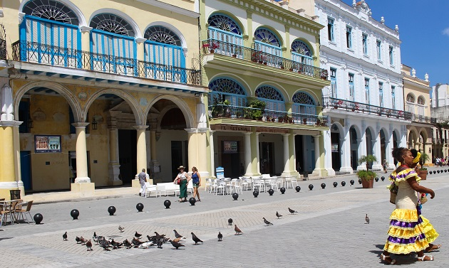 Onde ir em Havana- Plaza Vieja
