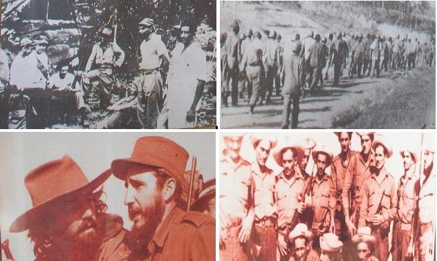 Fotos expostas no Museu da Revolução.