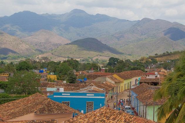 Sierra del Escambray, no centro-sul de Cuba, região em que Che venceu batalhas importantes.