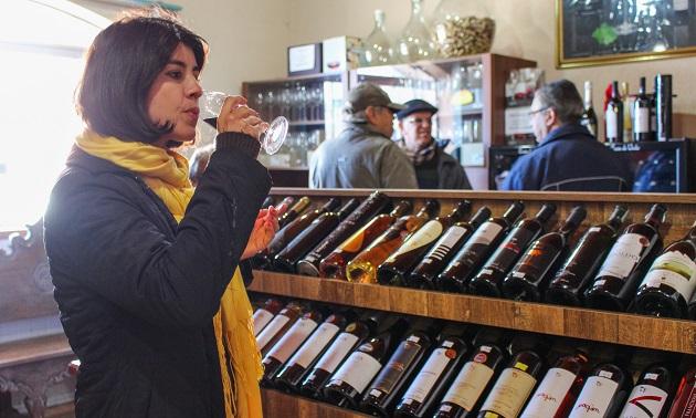 Loja do Vinho em São Joaquim