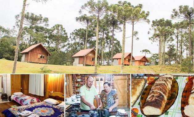 Pousada rural em Urubici: Arroio da Serra, turismo com  sabor de colônia