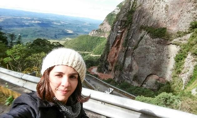 No início da Serra do Corvo Branco.