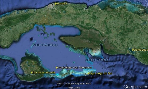 Mapa Cayo Largo - Cuba