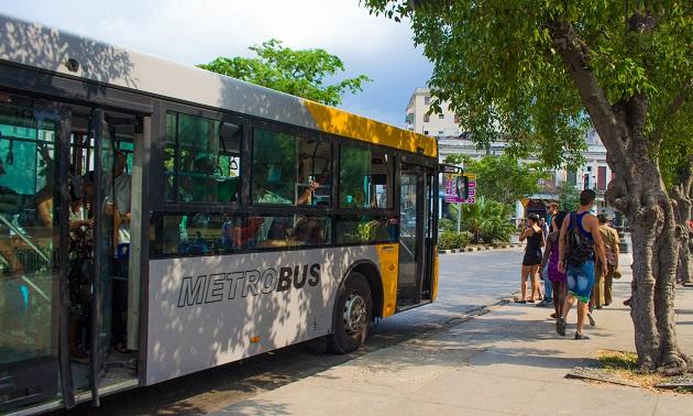Transporte coletivo em Havana