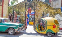 Coco-taxi em Havana