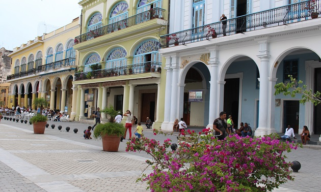 Praça de Havana.