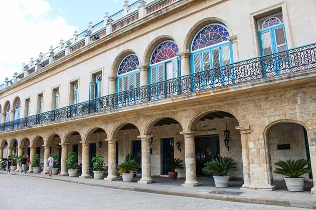 Hotel Santa Izabel, em Havana.