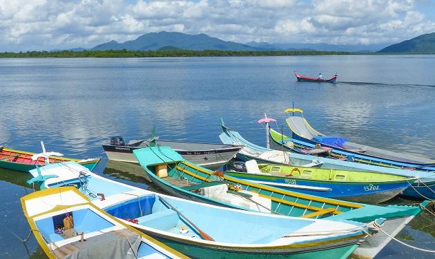 Canoas caiçaras - Guaraqueçaba I
