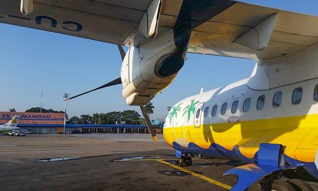 Avião que leva a Cayo Largo