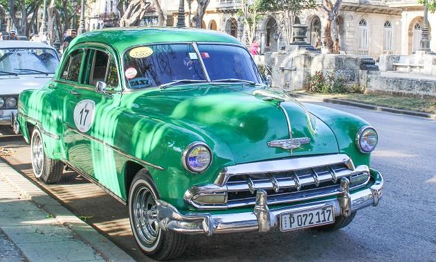 Taxi em Cuba