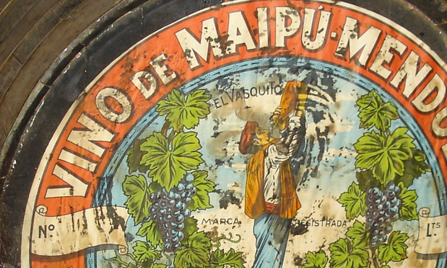 Tonéis antigos de Maipu.