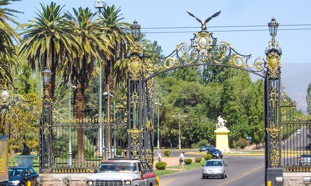 Portões do Parque San Martin.