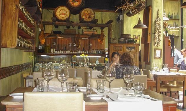 Restaurante Azafrán.