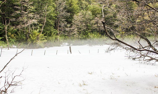 Neve na Rota dos 7 lagos.