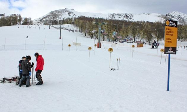 Aulas de esqui em Chapelco
