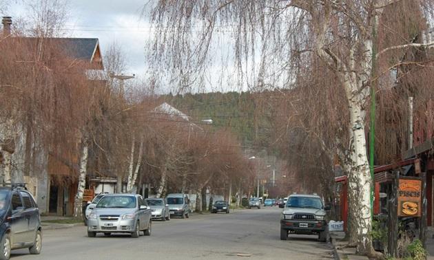 Rua do centro de San Martin.