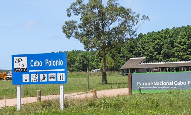 Centro de visitantes de Cabo Polonio.