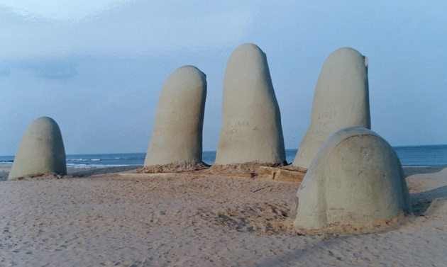 Monumento aos Afogados, em Punta,