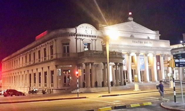 Teatro Solis em Montevidéu.