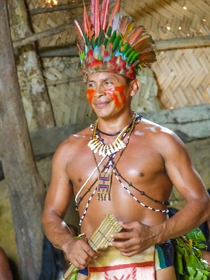 Manaus| Ritual indígena na Reserva do Tupé
