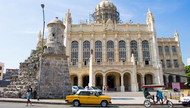 A história e o Museu da Revolução em Havana, Cuba