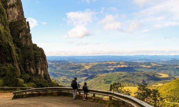 Inverno na Serra Catarinense