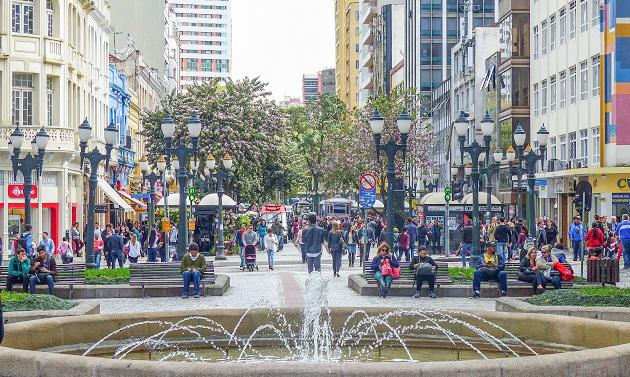O que fazer em Curitiba:  Comece pela Rua das Flores