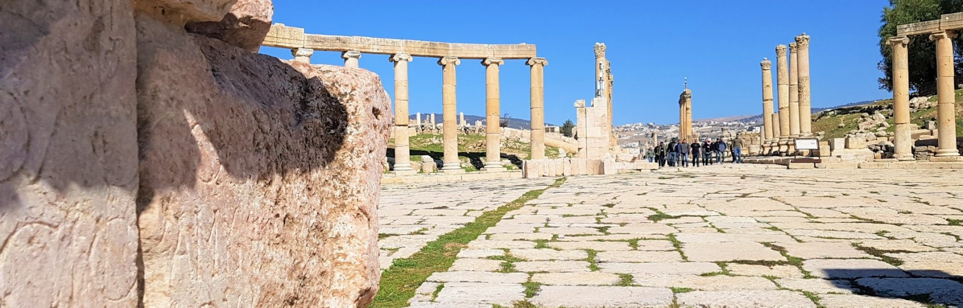 Dois mil anos de história em Jerash, na Jordânia